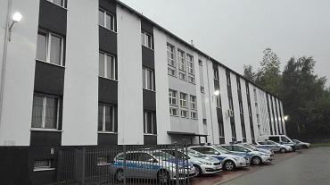 Remont elewacji budynku KM Policji w Świętochłowicach