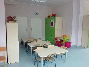 Przebudowa części pomieszczeń budynku przedszkola